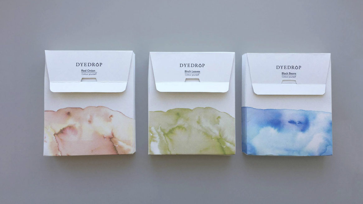 Packaging Design Dye Drop
