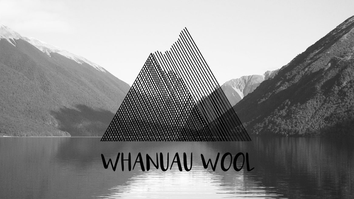 DESIGN OF LOGOTYPE  Whanau Wool