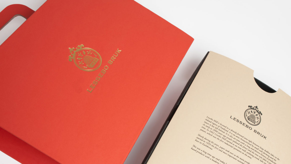Packaging Design Lessebo Paper Factory