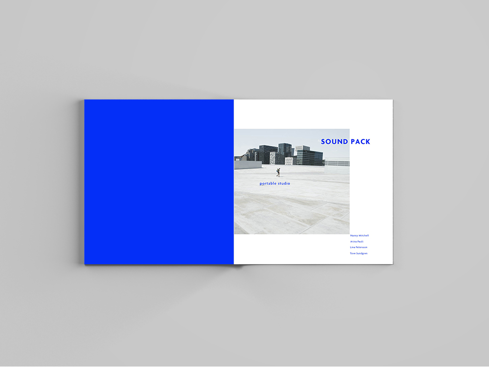 Square Magazine Mockup - Free Version